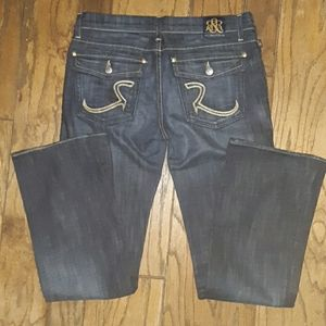 ROCK&REPUBLIC IN NEW CONDITION SIZE 30 BOOTCUT